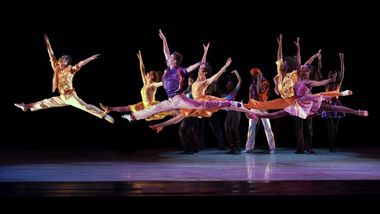 Alvin Ailey American Dance Theater in Talley Beatty's Stack-Up