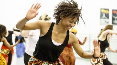 West African Dance Class at Ailey Extension