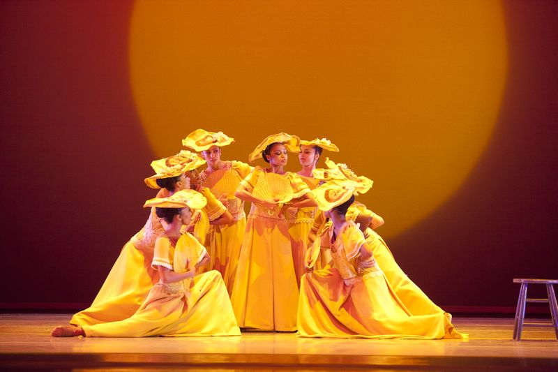 AAADT in Alvin Ailey's Revelations. Photo by Gert Krautbauer