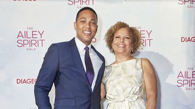 Don Lemon and Ailey Board President Debra Lee. Photo courtesy of Ailey_DCP