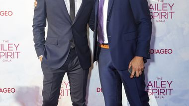 Honorary Chair Jussie Smollett and Don Lemon. Photo courtesy of Ailey_DCP
