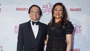 Honorees Vikas and Jaishri Kapoor. Photo courtesy of Ailey_DCP