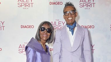 Cicely Tyson and B. Michael. Photo courtesy of Ailey DCP