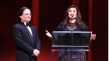 Honorees Vikas and Jaishri Kapoor. Photo by Donna Ward