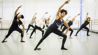 Ailey Barre at Ailey Extension. Photo by Christian Miles