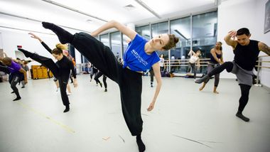 Contemporary Dance at Ailey Extension. Photo by Christian Miles