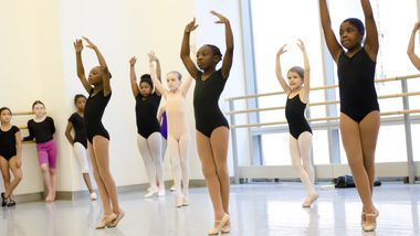 Ballet 4 Kids at Ailey Extension. Photo by Kyle Froman