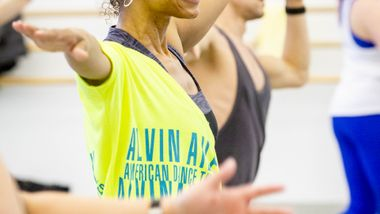 DanceFit with Karen Arceneaux at Ailey Extension. Photo by Christian Miles