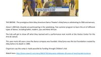 News12Bronx_AIE_AileyCamp_30thAnniversary_Broadcast_7.11.18