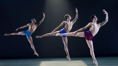 Ailey II in Darrell Grand Moultrie's Road to One. Photo by Kyle Froman