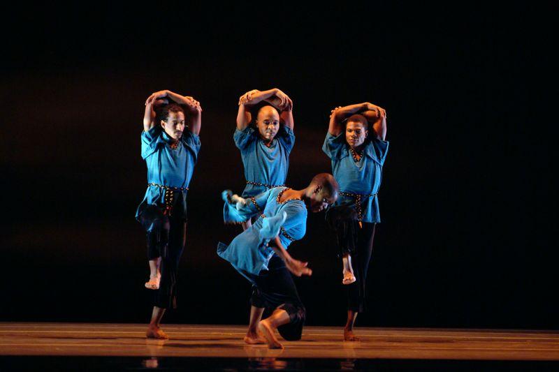 Alvin Ailey American Dance Theater in Robert Battle's Juba