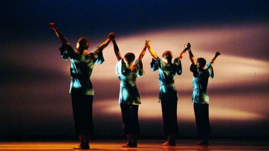 Alvin Ailey American Dance Theater in Robert Battle's Juba