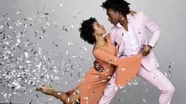Alvin Ailey American Dance Theater's Jacquelin Harris and Chalvar Monteiro