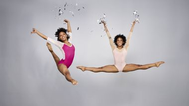 Alvin Ailey American Dance Theater's Samantha Figgins and Jacquelin Harris