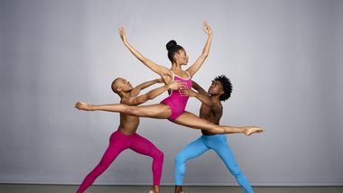 Alvin Ailey American Dance Theater's Yannick Lebrun, Jacqueline Green and Chalvar Monteiro