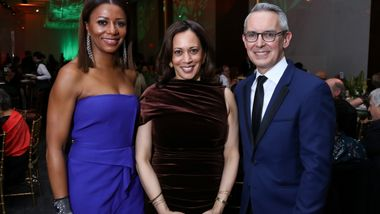 Gala Co-Chair Sela Collins,  U.S. Senator Kamala Harris, and Executive Director Bennett Rink