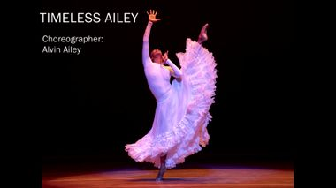 Timeless Ailey Special Program B-Roll