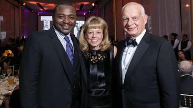 Artistic Director Robert Battle, Board Chairman Daria L. Wallach and Eric Wallach. Photo © Tony Powell