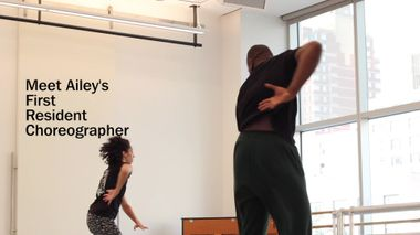 Jamar Roberts: Ailey's First Resident Choreographer