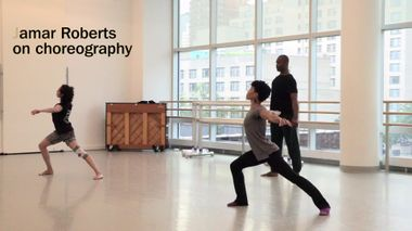 Jamar Roberts: Being a Choreographer