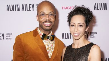 Alvin Ailey American Dance Theater's Jermaine Terry at Ailey's 2019 Opening Night Gala