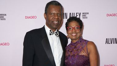 Gala Co-Chairs Howard and Paulette Mullings Bradnock at Ailey's 2019 Opening Night Gala