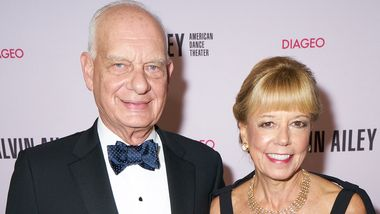 Gala Co-Chairs Daria and Eric J. Wallach at Ailey's 2019 Opening Night Gala