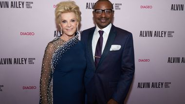 Honoree Elaine Wynn and Ailey's Artistic Director Robert Battle at Ailey's 2019 Opening Night Gala
