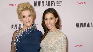 Honoree Elaine Wynn and board member Gillian Wynn at Ailey's 2019 Opening Night Gala