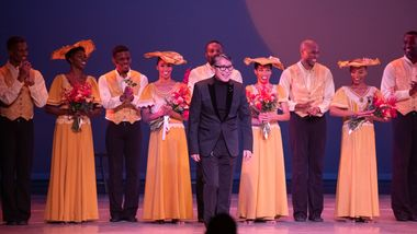Associate Artistic Director Masazumi Chaya and the Company