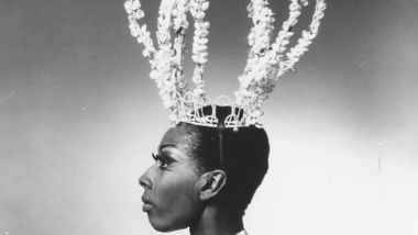 Judith Jamison in Geoffrey Holder's Prodigal Prince. Photo by Jack Mitchell. (©) Alvin Ailey Dance Foundation, Inc. and Smithsonian Institution