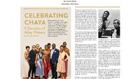 Playbill - Celebrating Chaya: 5 Decades Of Ailey History