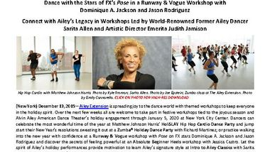 Holiday Season at Ailey Extension Press Release_FINAL