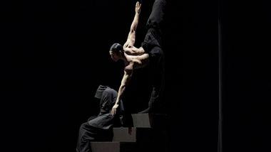 Alvin Ailey American Dance Theater's  James Gilmer in Aszure Barton's BUSK
