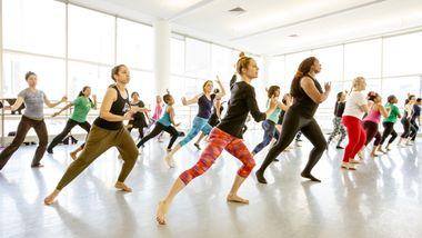 World Dance Celebration's Samba Workshop at Ailey Extension