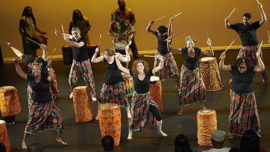 World Dance Celebration's West African Performance