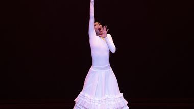AAADT's Constance Stamatiou in Alvin Ailey's Cry from Timeless Ailey 60th Anniversary program
