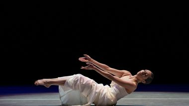 AAADT's Sarah Daley-Perdomo in Alvin Ailey's Mary Lous Mass from Timeless Ailey 60th Anniversary program
