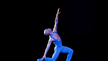 AAADT's Vernard Gilmore in Alvin Ailey's Love Songs from Timeless Ailey 60th Anniversary program