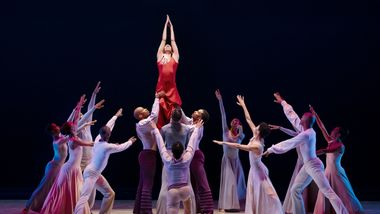 AAADT in Alvin Ailey's Memora from Timeless Ailey 60th Anniversary program
