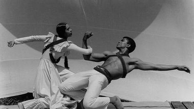 Carmen de Lavallade and Alvin Ailey at Jacobs Pillow in 1961. Photo by John Lindquist
