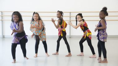 AileyDance Kids from Bronx Charter School for Excellence 2nd grade West African class