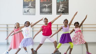 AileyDance Kids from Bronx Charter School for Excellence 3rd grade jazz class