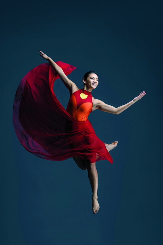 Student from the Ailey/Fordham BFA Program