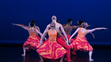 The Ailey School Professional Division students in Alvin Ailey's Phases