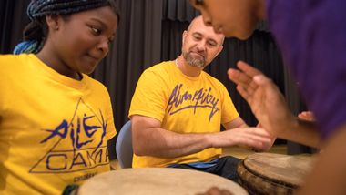 New York AileyCampers in Percussion