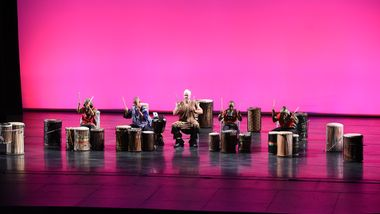 New York AileyCampers Percussion Piece at 2018 Final Performance