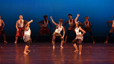 Newark AileyCampers in West African Piece