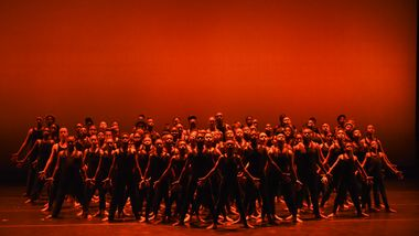 Newark AileyCampers Performing 'I Been Buked' from Alvin Ailey's Revelations
