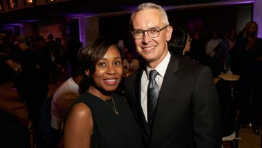 Gala Co-Chair Tia Breakley-China and Executive Director Bennett Rink